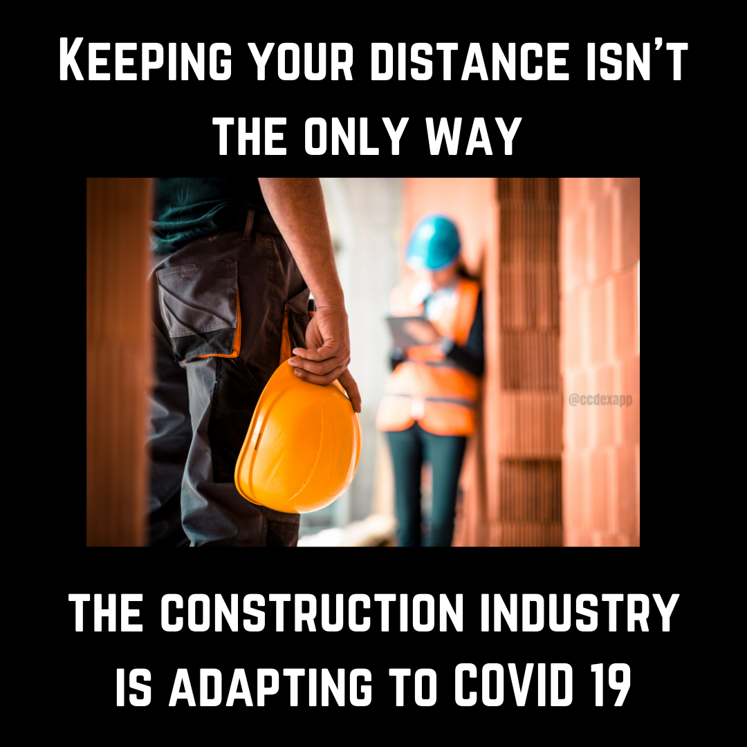 Constructions response to COVID 19