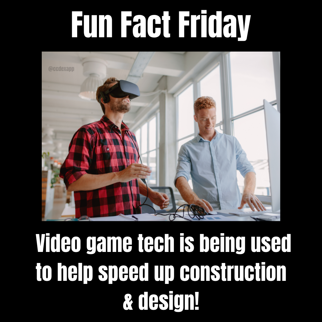 Video Game Tech in the Construction world
