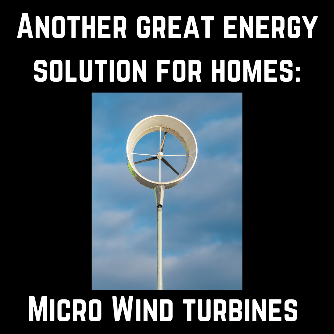 Micro Wind Turbines for Homes