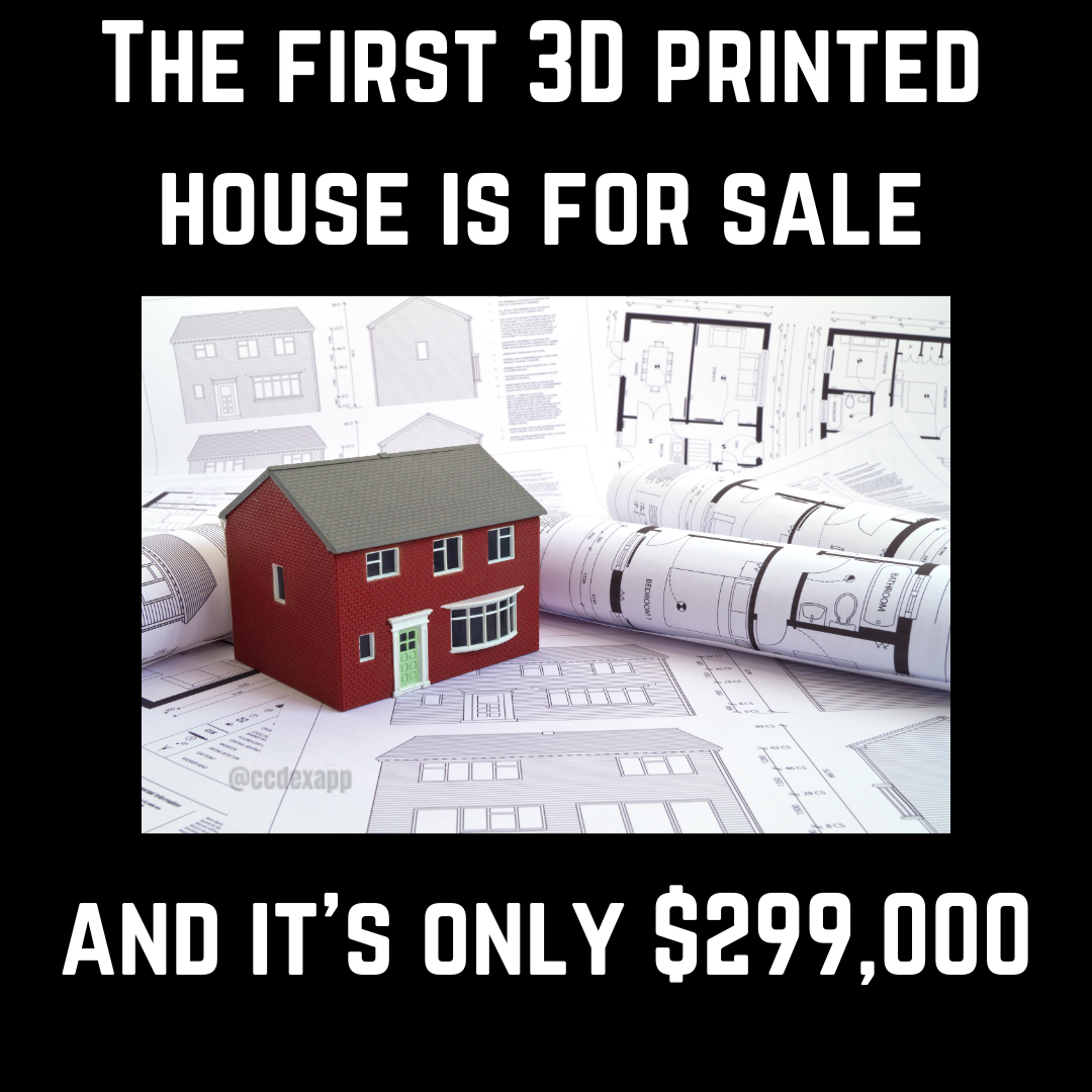 1st 3D Printed house in America