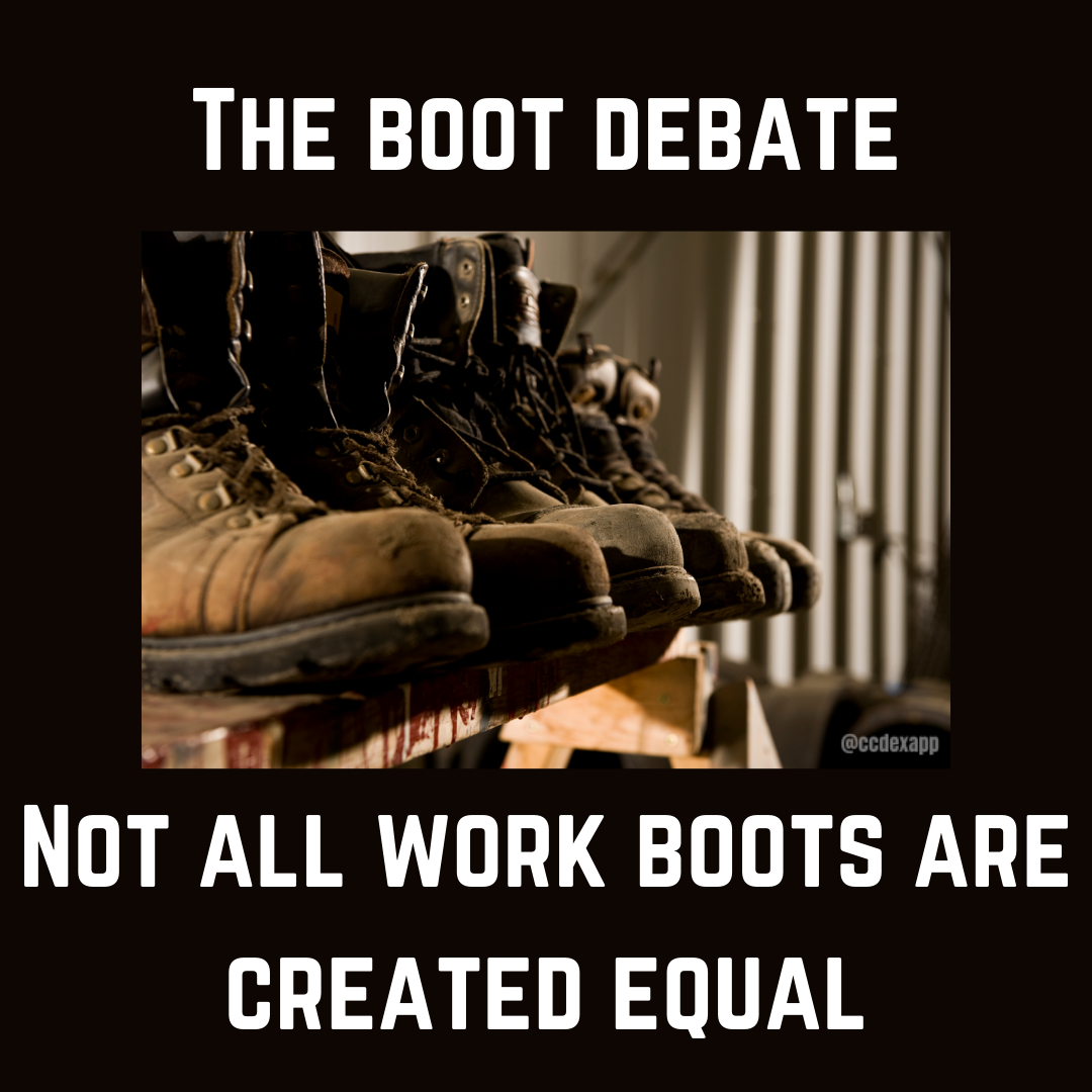 The Boot Debate