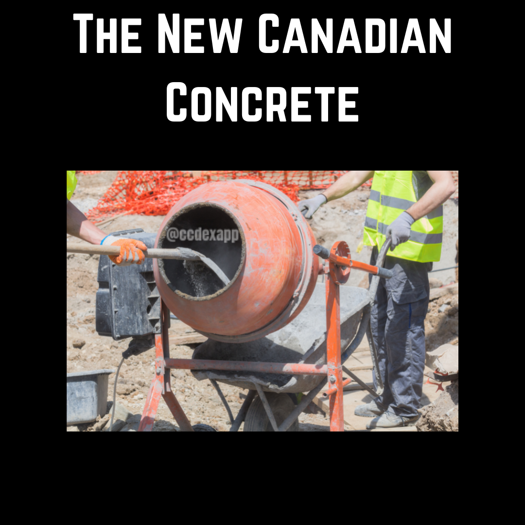 The New Canadian Concrete